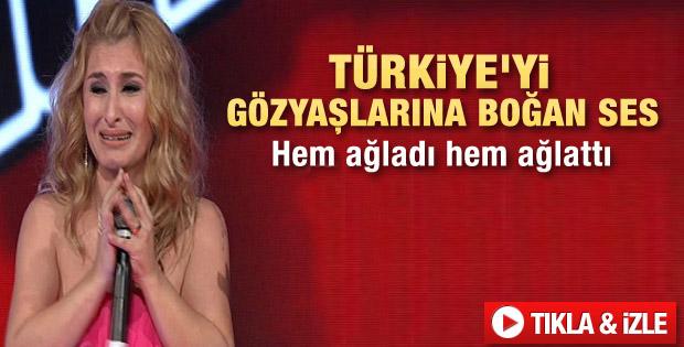 O Ses Türkiye'de Çiğdem Türkiye'yi ağlattı
