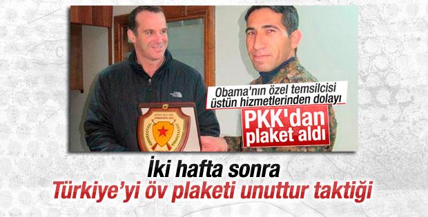PKK'dan plaket alan Amerikalı: Türkiye'siz başaramazdık