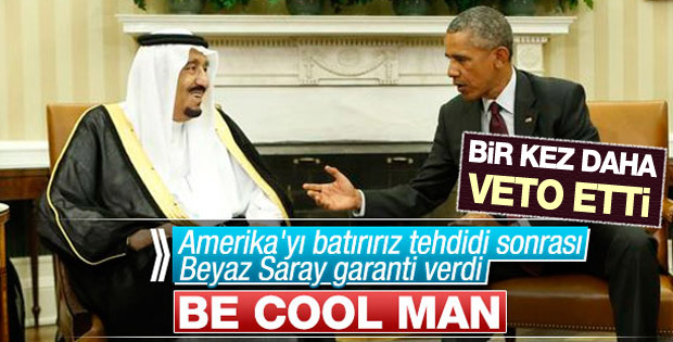 Obama Suudi Arabistan karşıtı yasa tasarısını veto etti