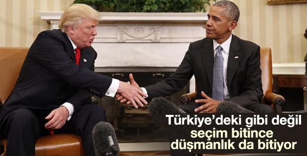Obama-Trump görüşmesi