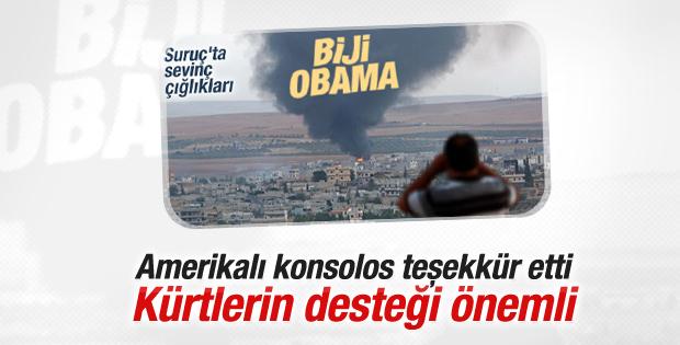 ABD'li konsolosa biji Obama sloganları soruldu