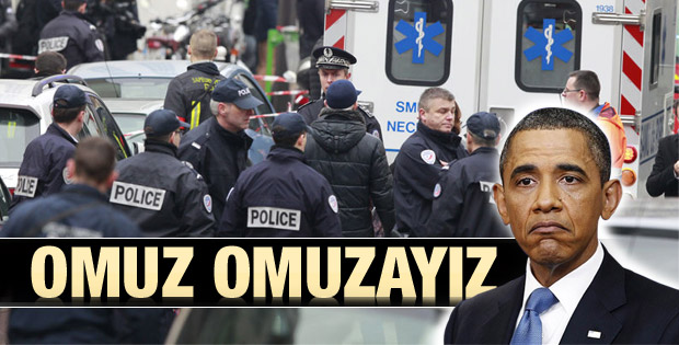 Obama Paris'teki saldırıyı kınadı