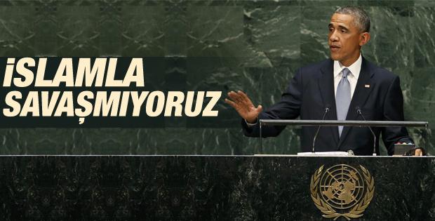 Obama: ABD İslamla savaş halinde değil İZLE