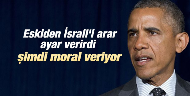 Obama'dan Netahyahu'ya bombardıman için destek