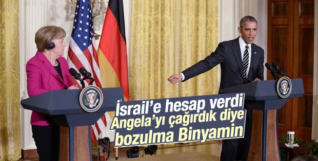 Obama: Angela'yı da davet etmezdik