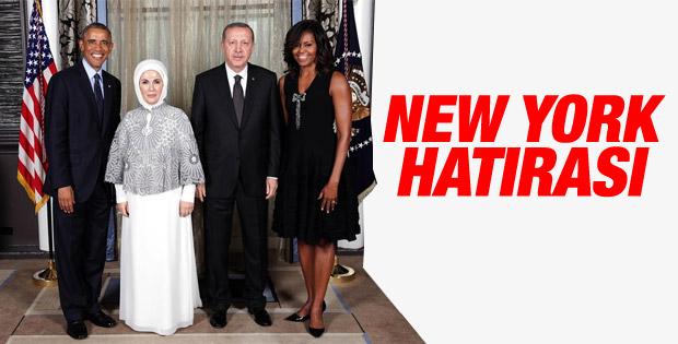 Erdoğan ve Obama resepsiyonda bir araya geldi