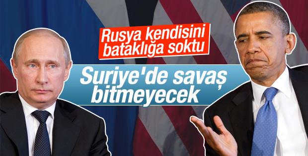 Obama: Rusya kendisini bataklığa sokacak demiştim