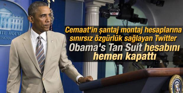 Obama'nın takım elbisesi alay konusu oldu