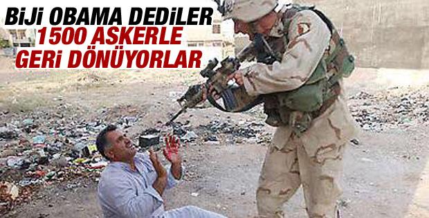 ABD'den Irak'a asker göndermeye onay
