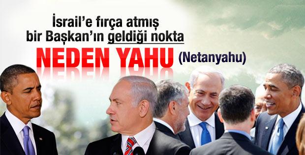 ABD Başkanı Obama ilk kez İsrail'de