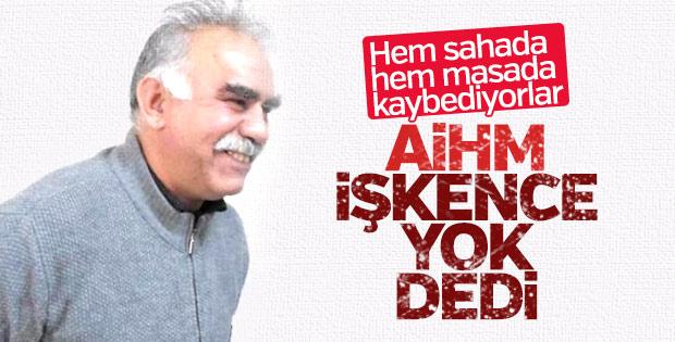 AİHM'den Öcalan'a ret