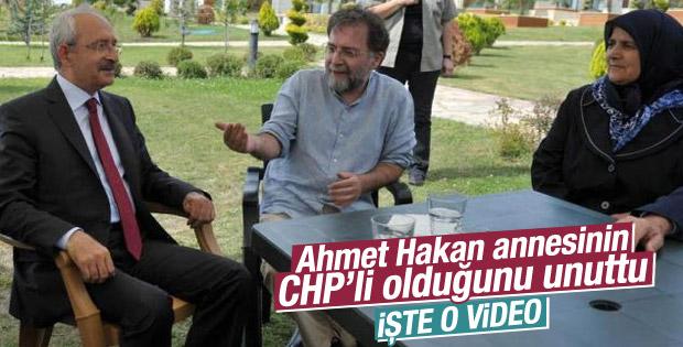 Ahmet Hakan'ın annesi CHP'li
