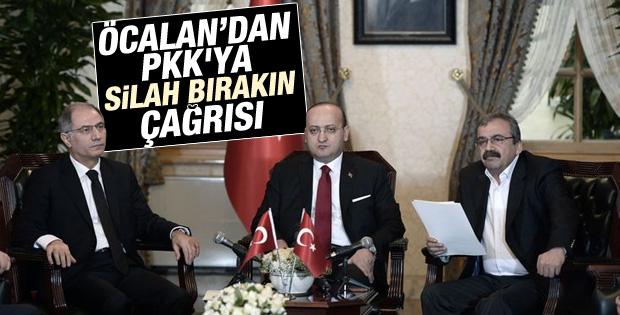 Süreç toplantısında PKK'ya silah bırakma çağrısı