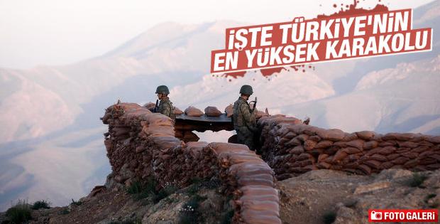 Van'da Türkiye'nin en yüksek noktasında karakol
