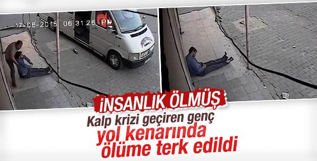 Gaziantep'te fenalaşan kişi yol kenarına bırakıldı