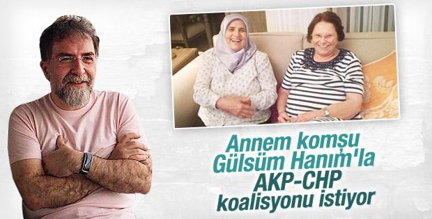 Ahmet Hakan annesinin fotoğrafını paylaştı