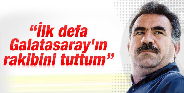Galatasaraylı Öcalan bu defa Amedspor'u destekledi