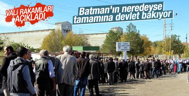 Batman nüfusunun yüzde 75'i sosyal yardım alıyor