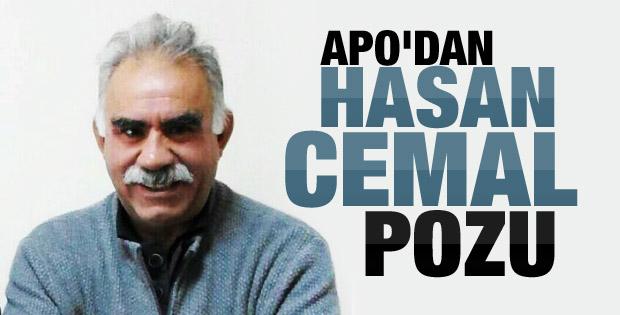Öcalan'dan Hasan Cemal pozu
