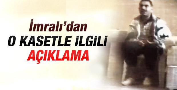 Öcalan'dan o görüntülere açıklama