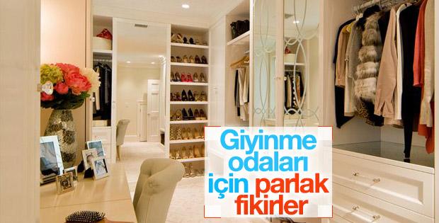 Giyinme odaları için öneriler