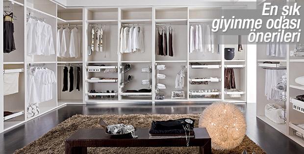 Evinizde giyinme odalarına yer açın
