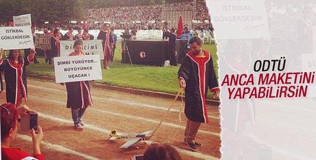 ODTÜ'de mezuniyet töreni yapıldı
