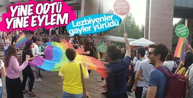 ODTÜ'de LGBT yürüyüşü