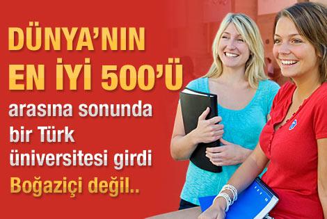 ODTÜ dünyanın en iyi 500 üniversitesi arasında