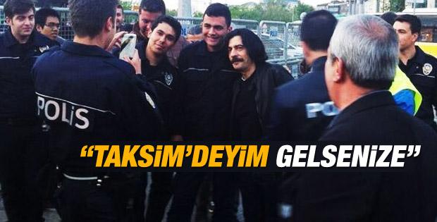 Okan Bayülgen Taksim'de