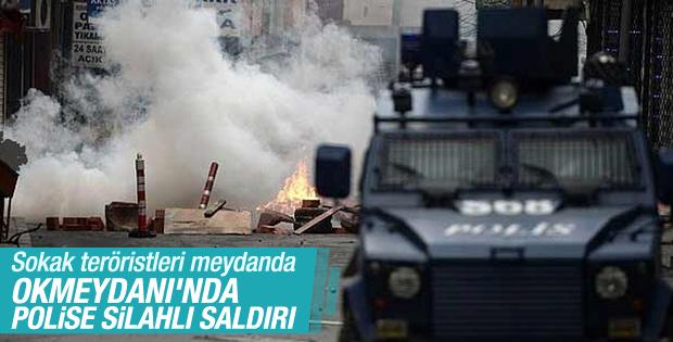 Okmeydanı'nda polise silahlı saldırı: 2 yaralı