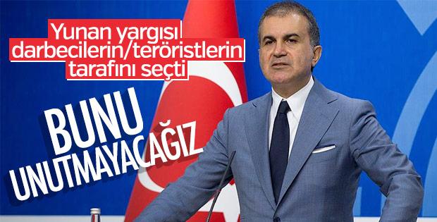 Yunan yargısı Türkiye düşmanlarının yanında yer aldı