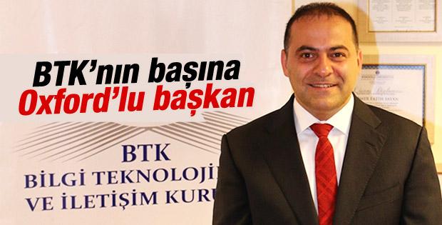 BTK'nın yeni başkanı Ömer Fatih Sayan oldu