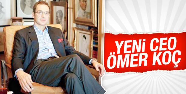 Mustafa Koç'un koltuğuna Ömer Koç oturuyor
