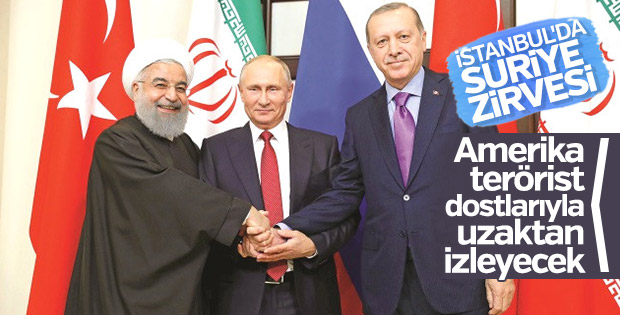 İstanbul'da Suriye zirvesi