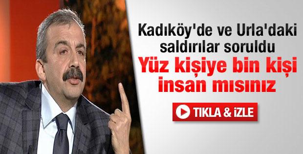 Önder HDP'ye yapılan saldırılar hakkında konuştu