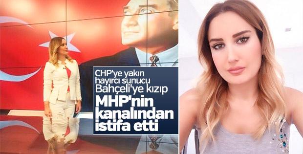 Bengütürk spikeri Esra Yıldız istifa etti