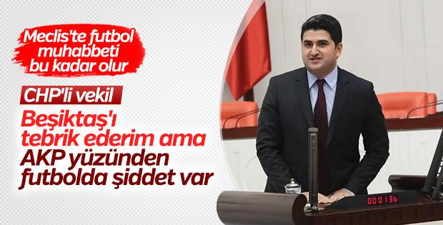 CHP'ye göre futbolda şiddetin sorumlusu AK Parti