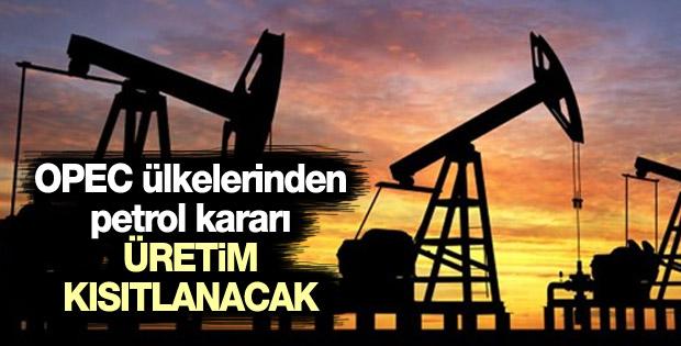 OPEC üyesi ülkelerden petrol için kritik karar