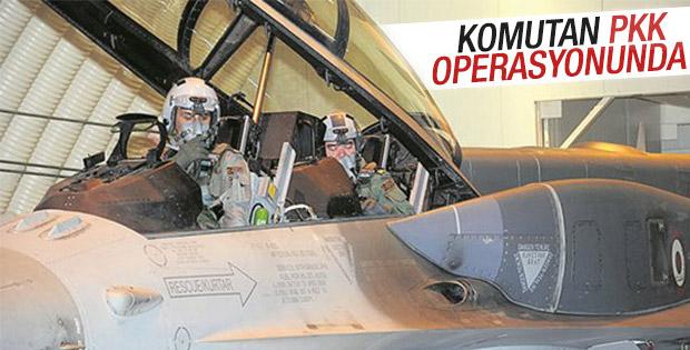Kuzey Irak'a hava operasyonu: 35 terörist öldürüldü