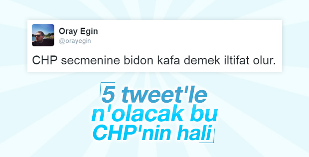 Oray Eğin CHP'yi bombaladı