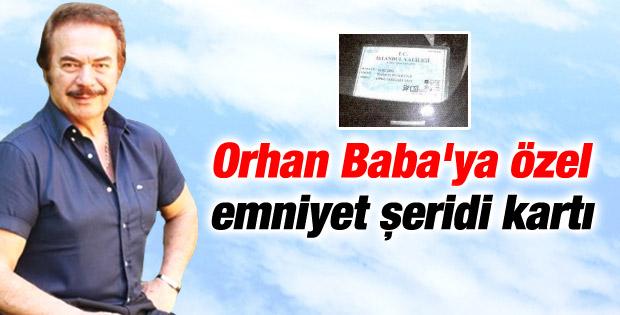 Orhan Gencebay'ın kalbine özel kart
