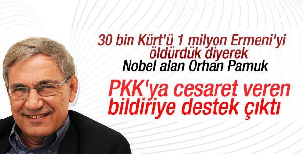 Orhan Pamuk'tan PKK sevici akademisyenlere destek