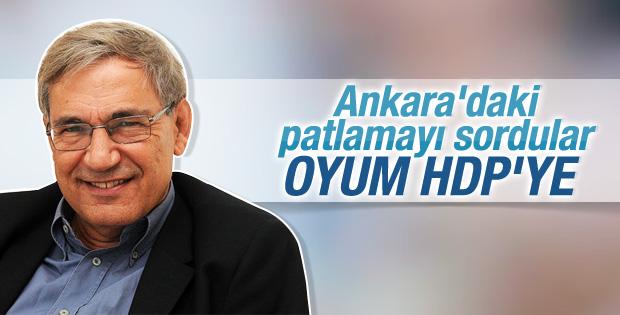 Orhan Pamuk oy vereceği partiyi belli etti