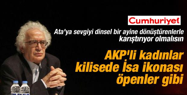 Orhan Bursalı'dan AK Partili kadınlara çirkin benzetme