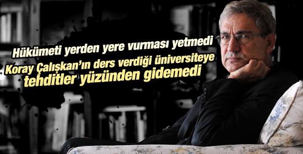 Orhan Pamuk öğrenciler tehdit edince konferansa gidemedi