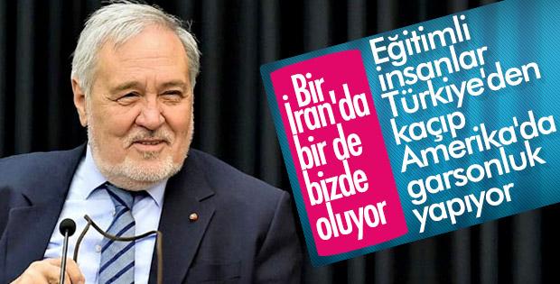 İlber Ortaylı Türkiye'den beyin göçünü eleştirdi