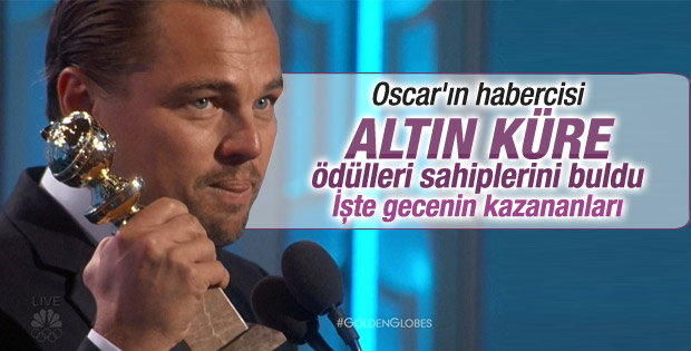 73. Altın Küre Ödülleri - KAZANANLAR