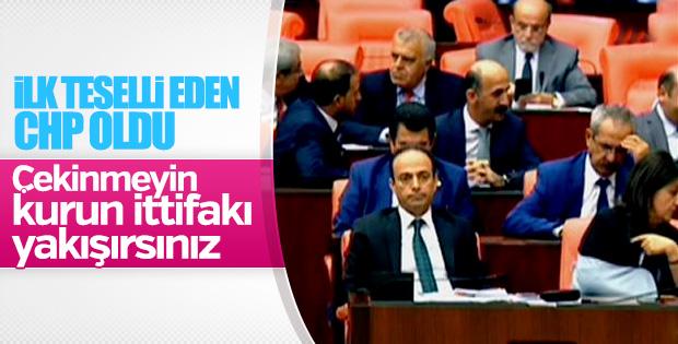 CHP, HDP'lilerin vekilliğinin düşürülmesine karşı