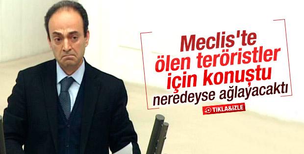 Osman Baydemir Meclis kürsüsünde ağlamaklı oldu